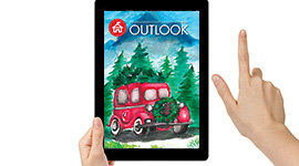 The January issue of Outlook is now available